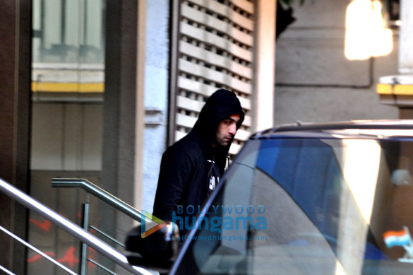 Ranbir Kapoor snapped post rehearsal for Ayan Mukerji's movie 'Dragon'