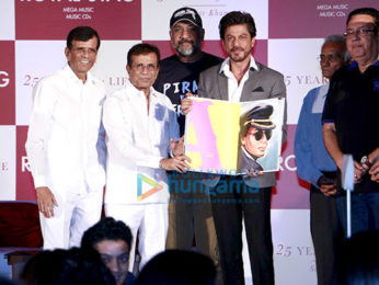 Shah Rukh Khan graces the launch of Samar Khan's book titled SRK 25 Years of a Life