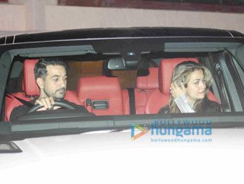 Salman Khan and others snapped at Arpita Khan & Ayush Sharma's wedding anniversary bash