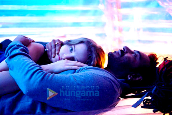 Movie Still From The Film Shivaay