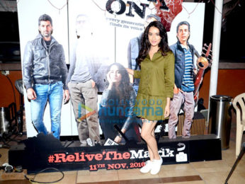 Shraddha Kapoor promotes 'Rock On!! 2'