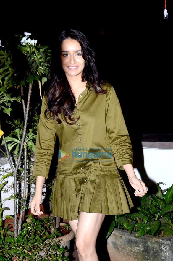 Shraddha Kapoor promotes 'Rock On!! 2'