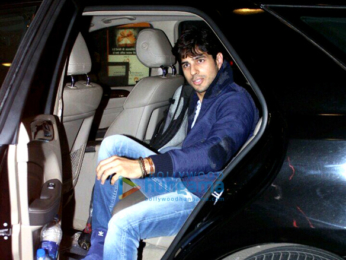 Sidharth Malhotra departs for New Zealand