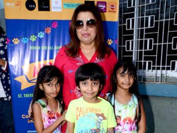 Sooraj Pancholi & Farah Khan grace 'Adoptathon 2016'