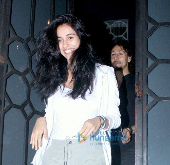 Tiger Shroff & Disha Patani snapped post dinner at The Korner House