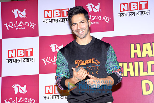 Varun Dhawan celebrates Children's Day at KidZania Mumbai
