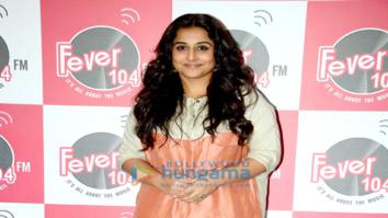 Vidya Balan promote 'Kahaani 2' at Fever 104 FM