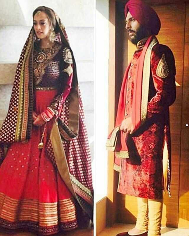 Check out: Yuvraj Singh and Hazel Keech's royal look in their wedding outfits