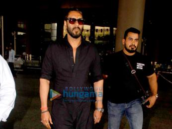 Ajay Devgn, Farhan Akhtar and Arjun Kapoor snapped at the airport