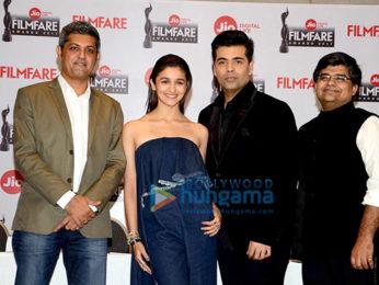 Alia Bhatt and Karan Johar grace the announcement of '62nd Jio Filmfare Awards 2016'