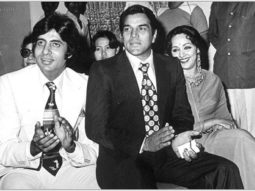Here's how Amitabh Bachchan wished Dharmendra on his 81st birthday