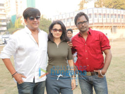 Celebs snapped on location of Manish Tiwary's film 'Chidiakhana'