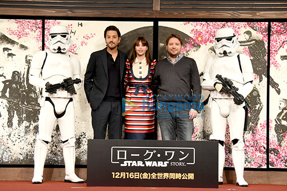 Felicity Jones and Rogue One: A Star Wars Story team kick-start promotions in Tokyo