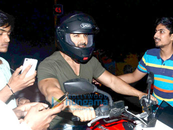 John Abraham snapped biking in bandra