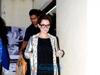 Kangna Ranaut snapped with her friends post a movie screening at PVR