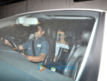 Malaika Arora Khan, Amrita Arora and Rhea Kapoor snapped post lunch at Kareena Kapoor Khan's house