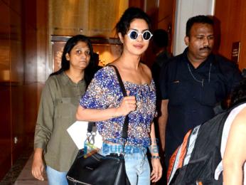 Priyanka Chopra snapped in her casual avatar