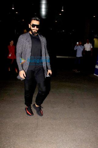 Ranveer Singh, Deepika Padukone, Emraan Hashmi, Esha Gupta and Sunny Leone snapped at the Mumbai airport