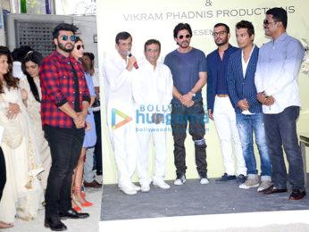 Shah Rukh Khan gives mahurat clap for Vikram Phadnis's Marathi movie 'Hrudayantar'