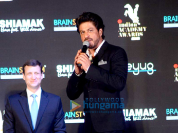 Shah Rukh Khan graces the launch of the 'Indian Academy Awards' (IAA) at US Consulate office