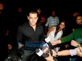 Salman Khan celebrates 51st birthday at his farmhouse in Panvel