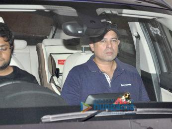 Salman Khan, Sangeeta Bijlani and others snapped post 'Dangal' screening