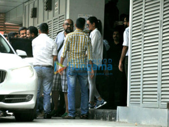 Sonakshi Sinha snapped post a meeting in Bandra