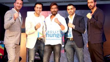 Ajay Devgn, Arjun Rampal, Salim Merchant & Sulaiman Merchant launch Super Fight League