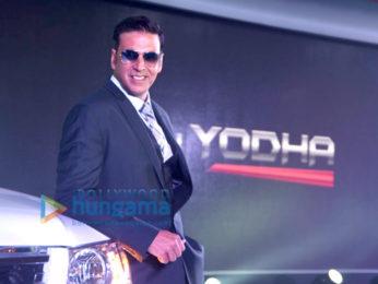 Akshay Kumar unveils new TATA Xenon Yodha vehicle