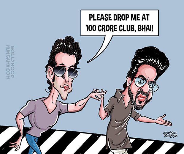 Bollywood Toons Can Kaabil beat Raees to reach 100 crore first