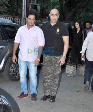 Celebs attend Abis Rizvi's prayer meet
