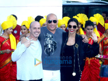 Deepika Padukone & Vin Diesel arrive in India for 'xXx The Return of Xander Cage' promotions