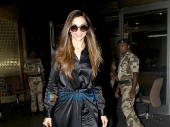 Deepika Padukone snapped as she arrives back in Mumbai