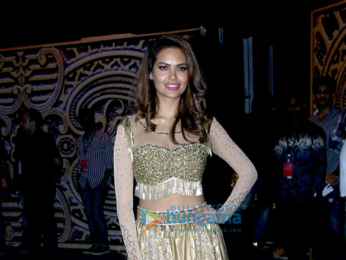 Esha Gupta and Iulia Vantur snapped at the Star Plus Dhakkad event