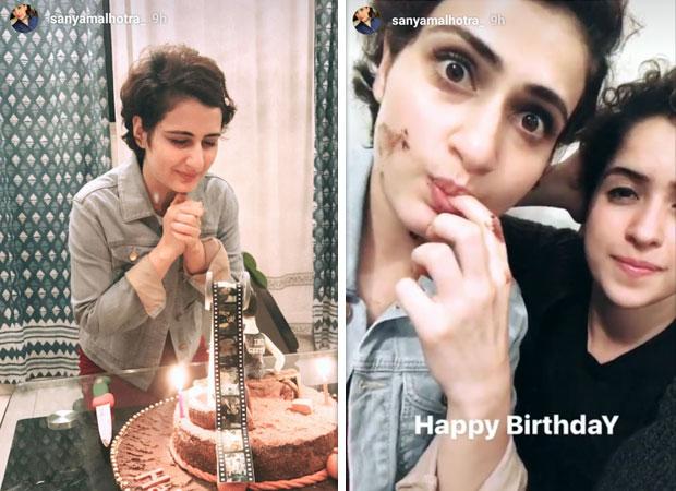 Fatima Sana Shaikh celebrates her birthday with her best friend Sanya Malhotra-1
