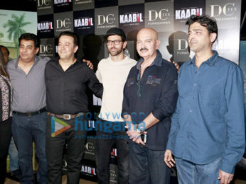 Hrithik Roshan promote 'Kaabil' at DCTEX event