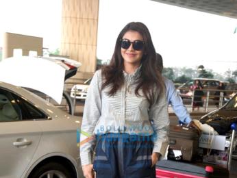 Kajal Aggarwal snapped at the airport