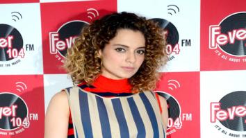 Kangna Ranaut promotes 'Rangoon' at 'Fever 104 FM'
