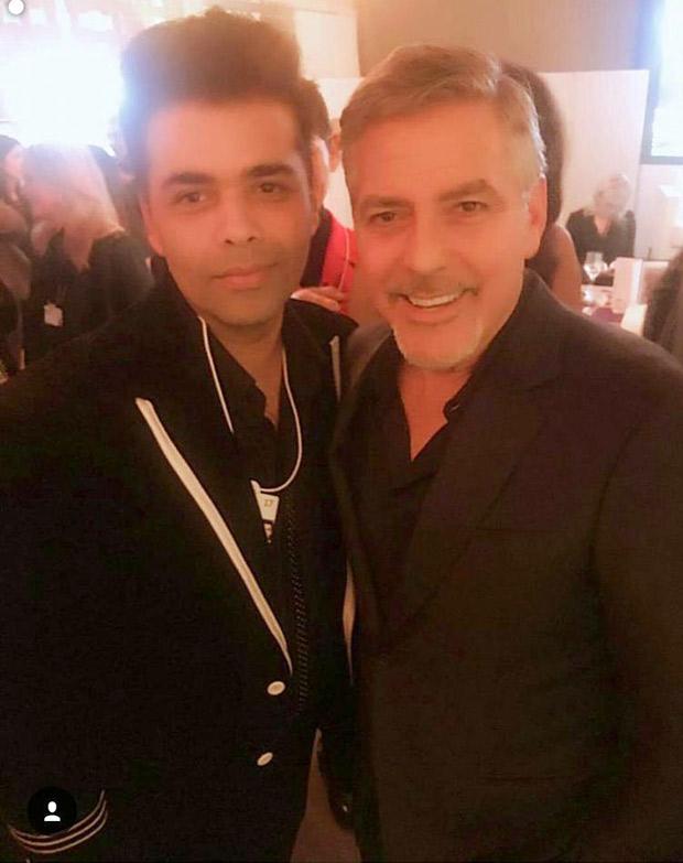 Karan-George Clooney