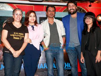 Nawazuddin Siddiqui and team celebrates the success of 'Haraamkhor'