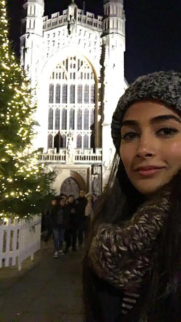Pooja Hegde in Bath City 3