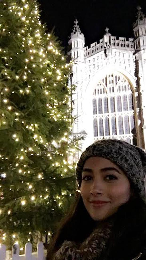Pooja Hegde in Bath City 4