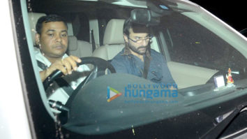 Saif Ali Khan, Sidharth Malhotra and Alia Bhatt snapped at Karan Johar's house