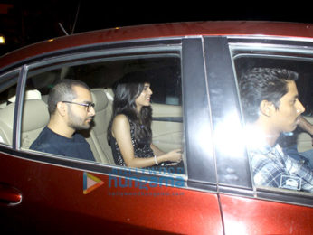 Sidharth Malhotra's birthday bash at KJo's house