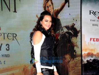 Sonakshi Sinha at the launch of 'Virtual Reality Haptic Gaming Experience' in India