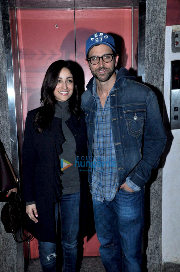 Special screening of 'Kaabil' for the cast & Roshan family