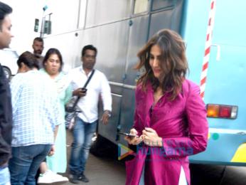 Vaani Kapoor snapped during a magazine shoot at Mehboob Studio