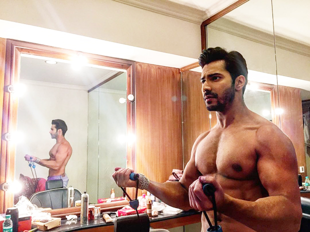 Varun Dhawan gives us fitness goals for 2017