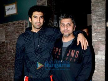 Aditya Roy Kapur & Mohit Suri snapped in Bandra