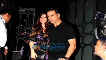 Akshay Kumar, Twinkle Khanna, Bobby Deol & Tanya Deol snapped at The Korner House